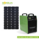 1000W Home Use Off-grid Portable Small Solar AC DC Power System With Solar Panel, Inverter, Controller, Battery, USB Outlets