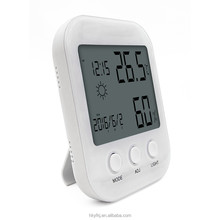 Desktop accurate data digital cold room thermometer and hygrometer with alarm clock