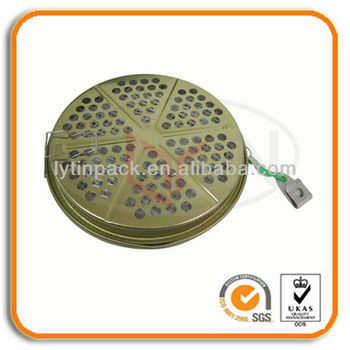 Portable Mosquito Incense Metal Box
