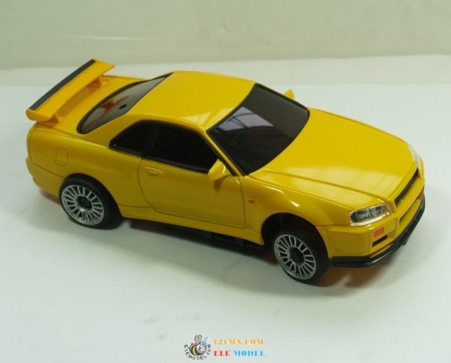 nissan skyline gtr rc model car