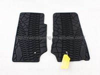 Auto parts rubber car mat for Jeep Wrangler Car floor mat for jeep accessories