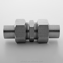 Stainless steel instrument butt weld fittings tube connector from China