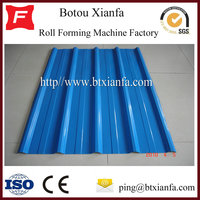 Color Coated Metal Roof Tile Making Machines China Manufacturer