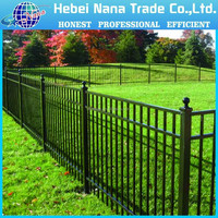 Courtyard fence /decorative metal front fence / fence metal solid panel