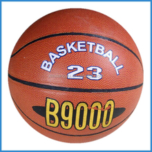 size 7 pvc laminated basketball wholesale for promotion