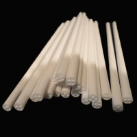 K OEM heat resistant glass good quality mullite ceramic tube