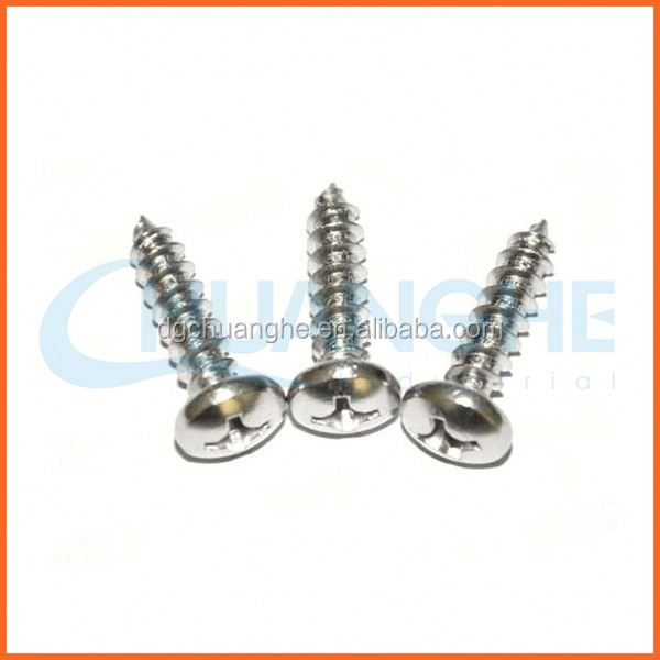 Chuanghe aluminum wood screw self tapping screws