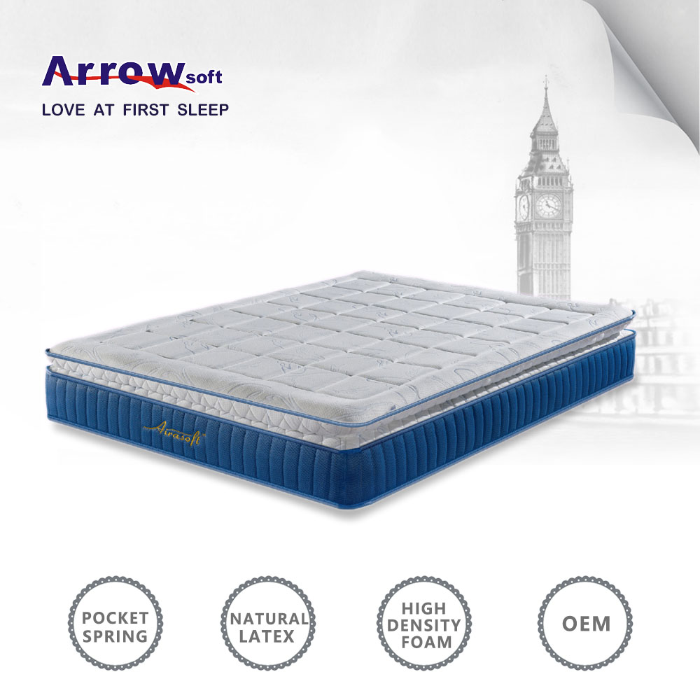 Pocket spring sweet dream latex mattress price