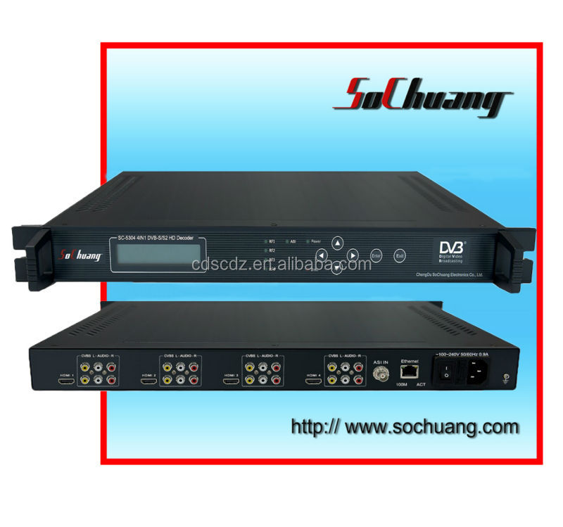 SC-5304 digital hd satellite receiver/dvb s2 mpeg4 receiver