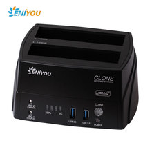 "Super speed USB3.0 Hard Drive Dock,plug-and-play hot swappable,support all 2.5/3.5"" SATA hard drive"