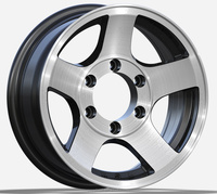ZCC-689 precise pressurization alloy wheel for car