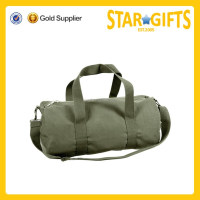 Heavy duty durable luggage travel canvas duffle bag for men