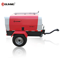 7 Bar 1200 Cfm 12V Screw Mobile Air Compressor In Iran