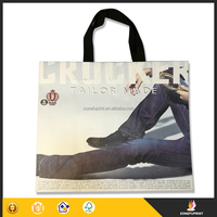 Fashion Design Fancy Paper Custom Made Paper Shopping Bags With Handles