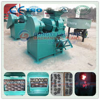 hot sale hydraulic carbon black briquette machine