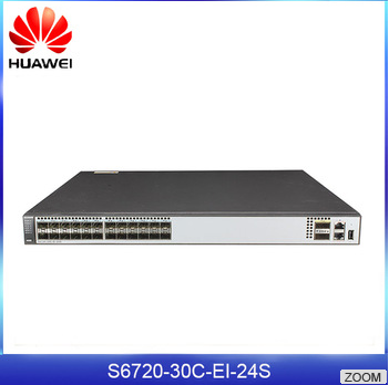 Hot Sale S6720 Series Huawei S6720-30C-EI-24S 24 Port Fiber Switch