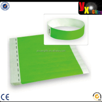 Multicolor Paper Wristband Tyvek Wristbands