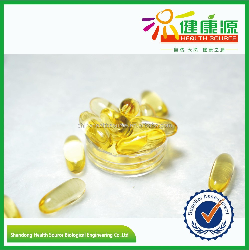 GMP factory Fresh Catch Fish Oil softgel Health food