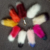 cheap fake fur fox tail keyring colorful fox tail fur keychain minions emoji fox tail fur keychain