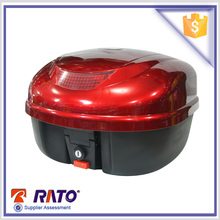 large factory abs material red color motorcycle metal tail box