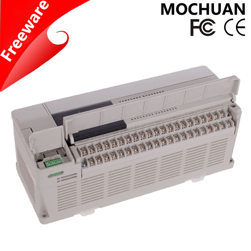 RS485 ac/dc input plc controlling programmable relay