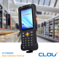 Android OS Rugged/Handheld PDA 1d/2d barcode with BT/WIFI/RFID/3G communication