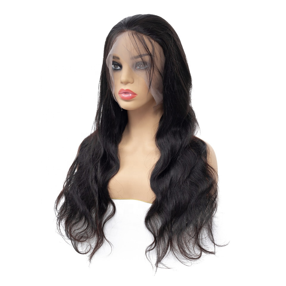 Discount Real Human Hair Long Wavy Lace Front