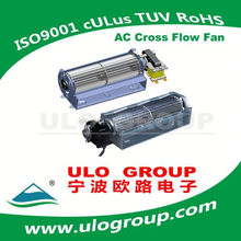 AC Cross Flow Fan Use for Home Appliance With Motor