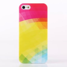 2014 glossy custom logo phone case cover for iphone5 in stock