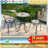 Paint electroplating coating with outdoor furniture