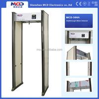 Door Frame Metal Detector, Walk Through Body Scanner For Airport Security