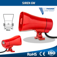 Security Protection Device Alarm Siren 6W