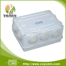 Manufacturer Plastic Enclosure Electronic , Electrical Equipment Suppliers / Waterproof Junction Box 255X200X80