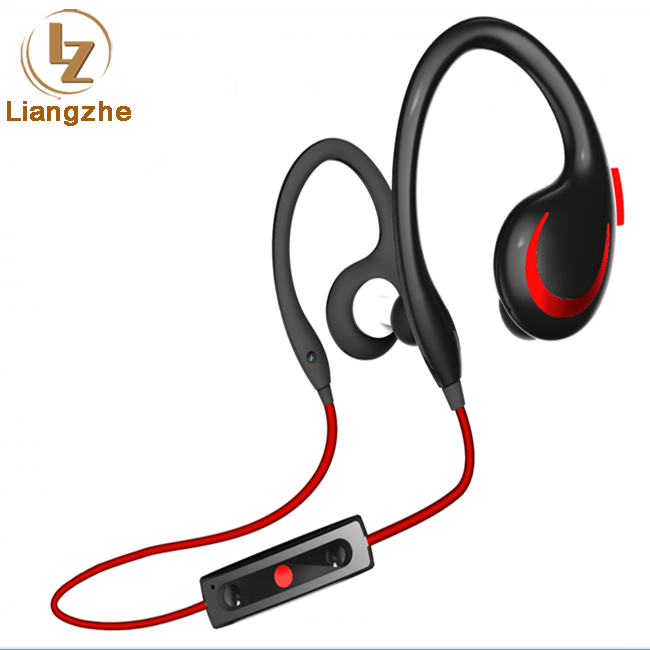 Bluetooth Earphone Sports Wireless NFC Music Stereo Headphone Earhook