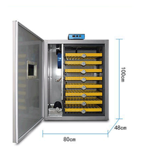 Factory supply 500pcs eggs digital automatic chicken egg incubator