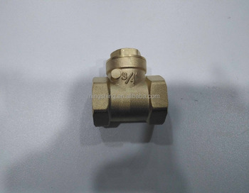 high quality united brass none return check valve for water and brass ball valve with lock water meter