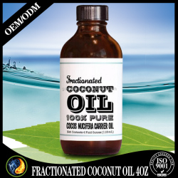 Top Quality Organic Fractionated Coconut Oil 4OZ