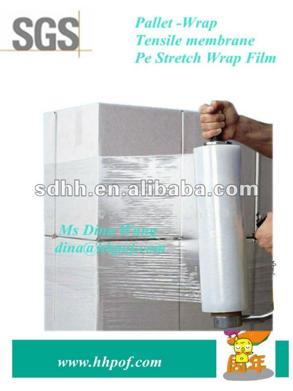 Pallet Hand Use Pe Stretch Wrap Film