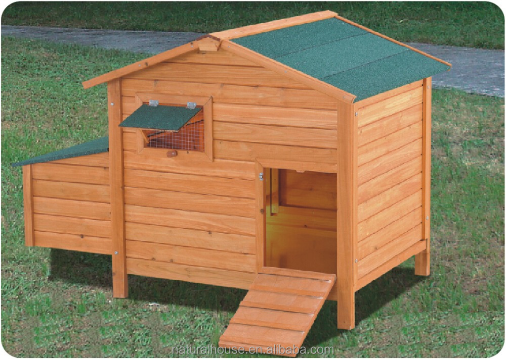 Hot-selling Prefabricated Wooden Flat Pack Chicken House