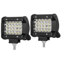 12V waterproof led square light 4'' spot 144w led worklights 27w work led light for trucks,auto parts ,boats