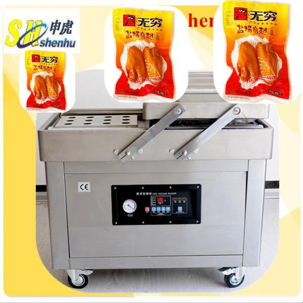 Best Sealer Double chambers chicken <strong>vacuum</strong> pack machine T:0086 13524508515