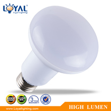 High lumen IP20 warm white smd 7W R80 led bulb e27 led lamp