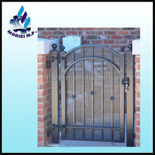 Easily assembled Powder coated Iron gate grill designs