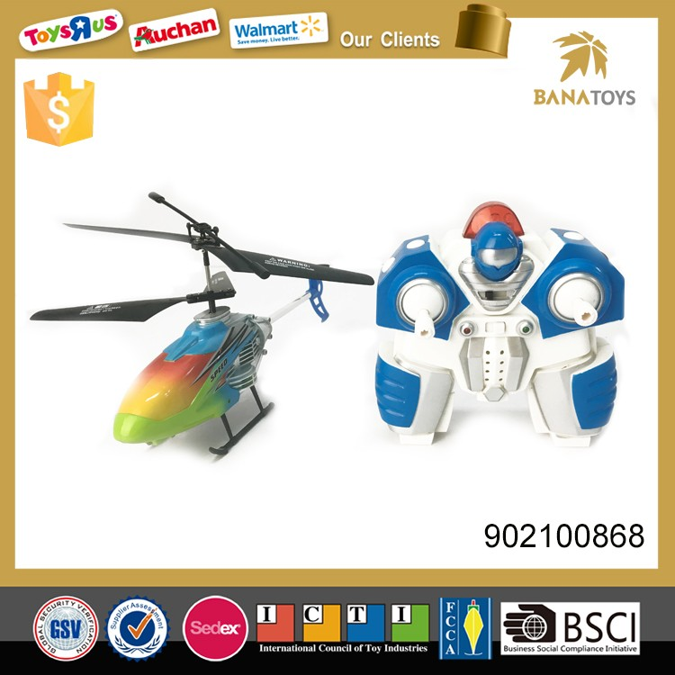Double propellers flying toy rc plane