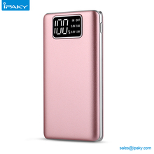 2017 Trending Products LCD Display Portable Power Bank 10000Mah For Samsung Galaxy S6