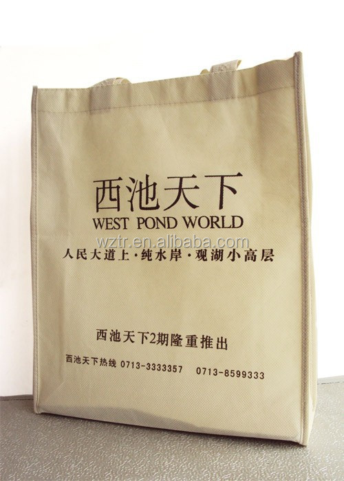 The most promotional laminated non woven fabric wholesale bag