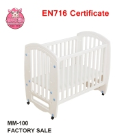 New Design 2017 Adjustable Baby Bed Classic 3 in 1 Convertible Crib White