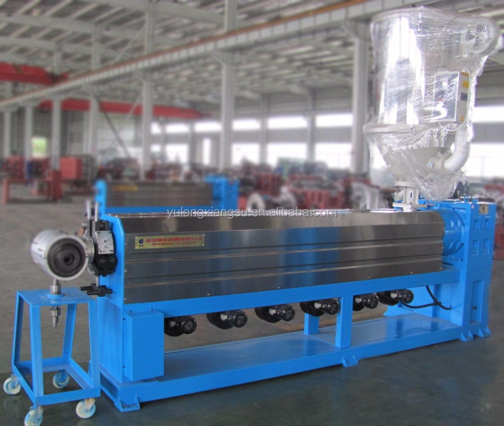 Fire resistance cable extrusion line/fiber optic cable making equipment
