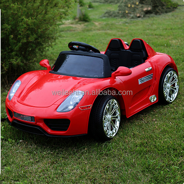 PP children electric toy car, Plastic material and battery power children electric toy car price,CE approval ride on car for kid