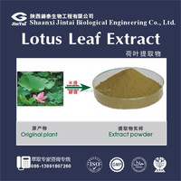 factory supply pure natural 2% 10% 98% lotus leaf extract